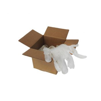 6 Pair Pack Vinyl Gloves for deck coating